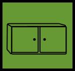 grün - beispielsweise Küche oder Betten