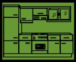 grün - Beispiel Küche