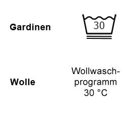 Gardinen und Wolle