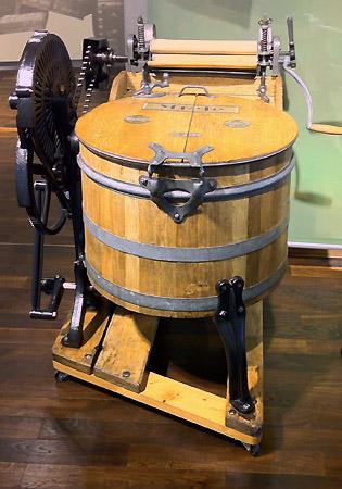 Wissen rund um die Hauswirtschaft - Historische Waschmaschinen